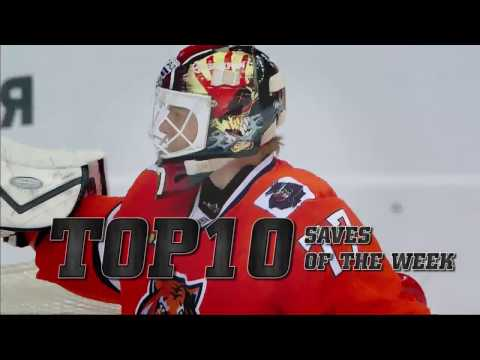 KHL Top 10 Saves for Week 9 (видео)