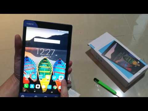 Lenovo Tab3 8 Malaysia - Unboxing, first impression and review