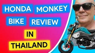 10. Honda Monkey Review 2019