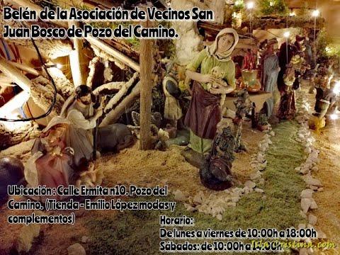 Belén de la Asociación de Vecinos San Juan Bosco de Pozo del Camino
