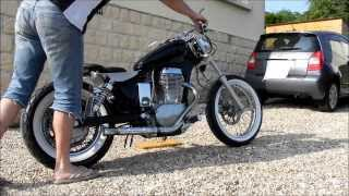 6. Suzuki ls 650 savage bobber