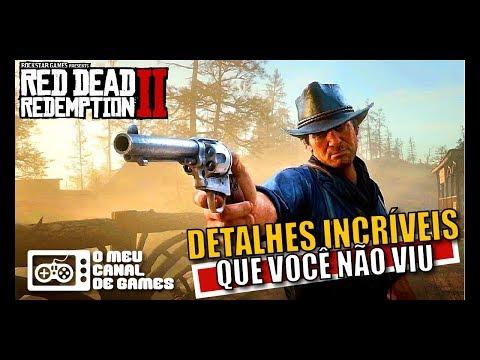 DETALHES INCRÍVEIS DE UM GAMEPLAY FANTÁSTICO [Red Dead Redemption 2]