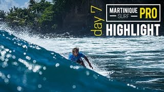 Un zoom sur les meilleurs compétiteurs encore en lice lors de ce derniers jour du Martinique Surf Pro!