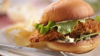 Crispy Buffalo Chicken Sandwiches- Everyday Food with Sarah Carey by Everyday Food