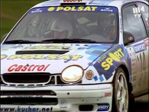20. Int. Semperit Rallye 2000 - Tomasz Kuchar Toyota Corolla WRC