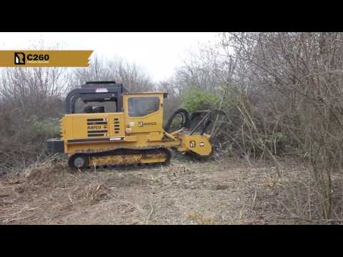 hqdefault c260 forestry mulcher forestry machines ohio rayco mfg Skid Steer Forestry Mulcher Rental at eliteediting.co