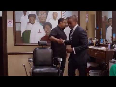 Barbershop The Next Cut (2016) - Jay & Marquis Fights At Calvin's Barbershop Pt. 1