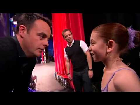 Hollie Steel, la niña que sorprendió a todos (Britain's Got Talent 25-04-09)