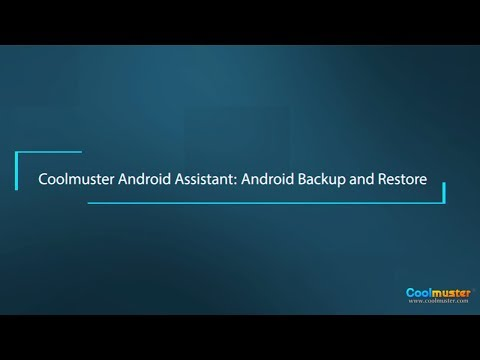 Coolmuster Android Assistant: Android Backup and Restore