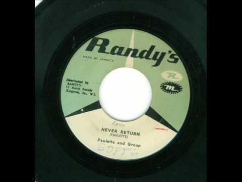 paulette & group - never return (randy's 1963)