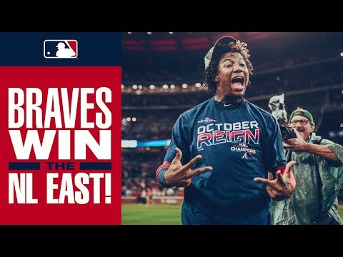 Video: Braves clinch NL East