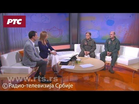 Srpski piloti objavili snimke iz kokpita: