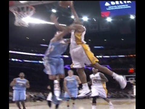 Wesley Johnson poster dunk on Danilo Gallinari: Nuggets at Lakers