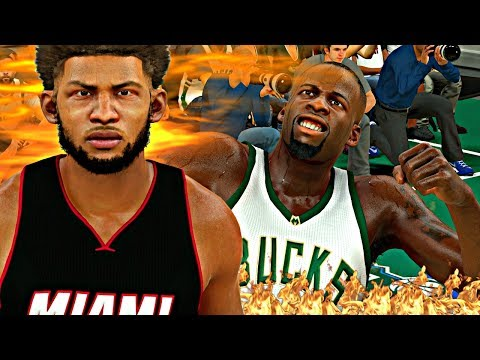 Online MyCAREER Mode - DRAYMOND GREEN GOES OFF ON THR REF AFTER HE FOULS OUT! | CRAZY ANKLE BREAKER!