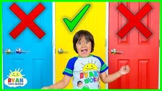 Video Don't Choose the Wong Door Challenge!! MP3, 3GP, MP4, WEBM, AVI, FLV April 2019