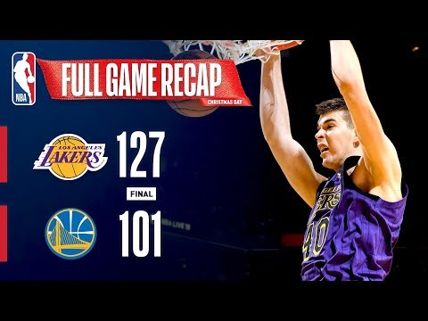 Video: FULL GAME RECAP: LAKERS VS WARRIORS | IVICA ZUBAC STEPS UP ON CHRISTMAS