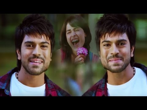 Ram Charan Love At First Sight With Genelia Scene | Maa Cinemalu