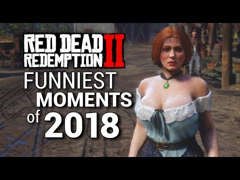 Funny clips - Red Dead Redemption 2 Funniest Moments of 2018