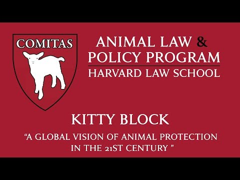"2/28/19 – Kitty Block ""a Global Vision Of Animal Protection In The 21st Century"""