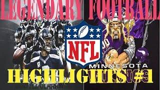 Video NFL HIGHLIGHT COMMENTARY! Roblox (Legendary Football) MP3, 3GP, MP4, WEBM, AVI, FLV Oktober 2017