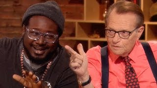 Larry King & T-Pain Auto-Tune! | TakePart Live