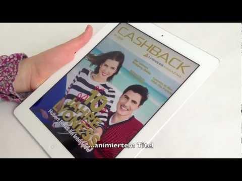 Lyoness Cashback Magazine für iPad