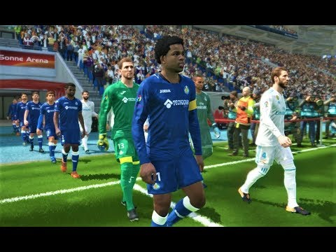 Real Madrid Vs Getafe 2018 | Full Match | PES 2018 Gameplay HD