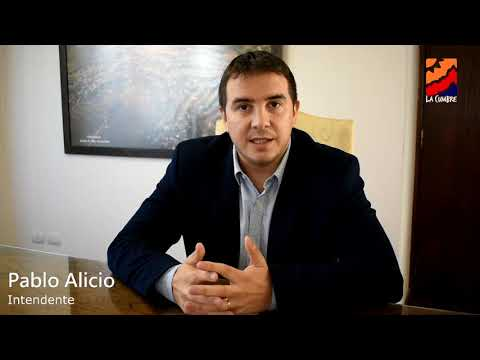 VIDEO CON INFORME DE PABLO ALICIO: COVID-19: INFORME MUNICIPALIDAD LA CUMBRE  - 2 ABRIL (VER VIDEO)