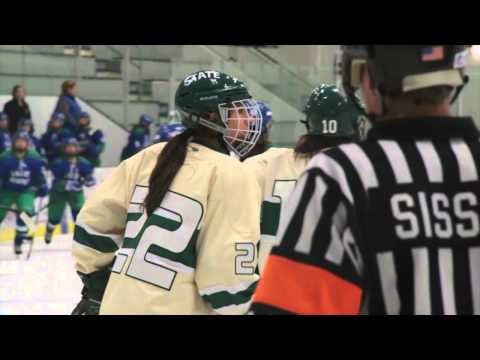Women's Hockey vs Salve Regina