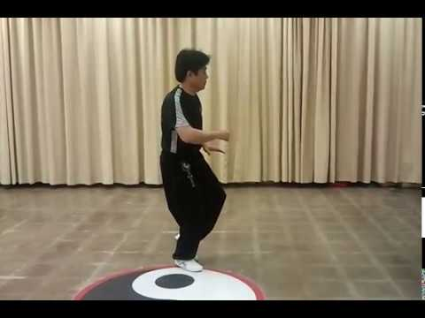 WU HAO TAI CHI (TAIJI) DEMO FORM by Gmaster Jimmy K Wong Taped in June 7 2012