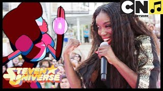 Download Lagu Steven Universe | Stronger Than You - Estelle Performs LIVE (MUSIC VIDEO) | Cartoon Network Mp3