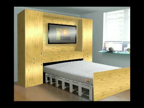 Zoom bed make space don t waste it style by design for Zoom room design