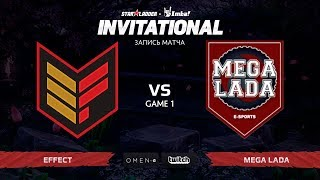 Effect vs Mega Lada, Первая карта, SL Imbatv Invitational S5 Qualifier