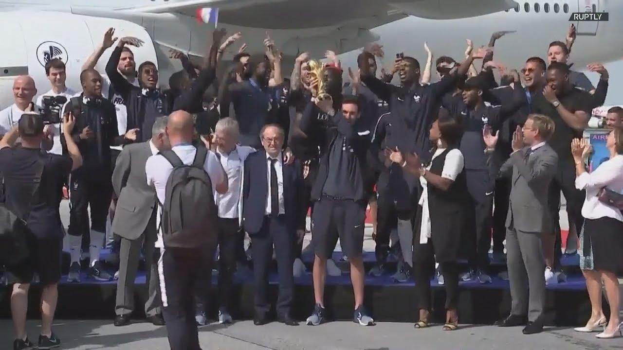 Υποδοχή ηρώων για τη Γαλλία αλλά και την Κροατία