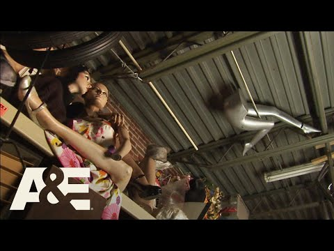 Hoarders: Warehouse FULL of Creepy Mannequins (S6 Flashback) | A&E