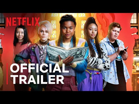A Babysitter's Guide To Monster Hunting   Official Trailer   Netflix