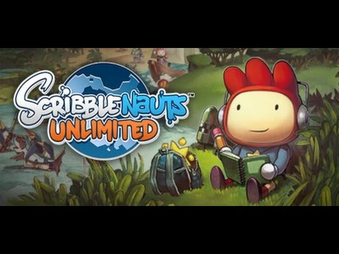 One of The Most FUN Games Ever - Scribblenauts UNLIMITED - PC HD