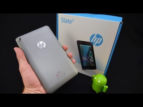 HP Slate 7: Unboxing & Review