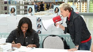 Video Ellen & Michelle Obama Go to Costco MP3, 3GP, MP4, WEBM, AVI, FLV November 2018