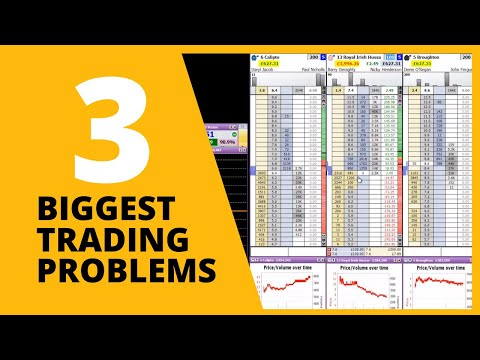 Biggest 3 Problems For Learning Betfair Trading