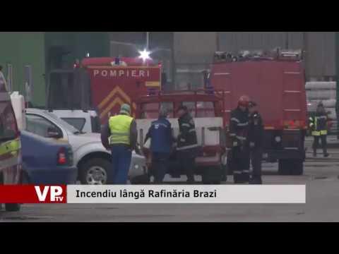Incendiu lângă Rafinăria Brazi