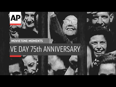 VE-Day 75th Anniversary - 1945 | Movietone Moment | 8 May 2020