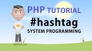 PHP Hashtag System and Regex Programming Tutorial