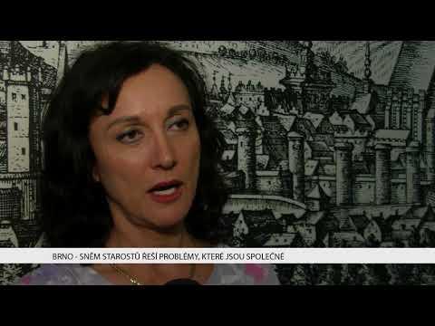 TV Brno 1: 27.11.2017 Sněm starostů řeší problémy, které jsou společné
