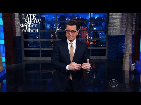 The Weather Channel Announces 'Winter Storm Colbert'