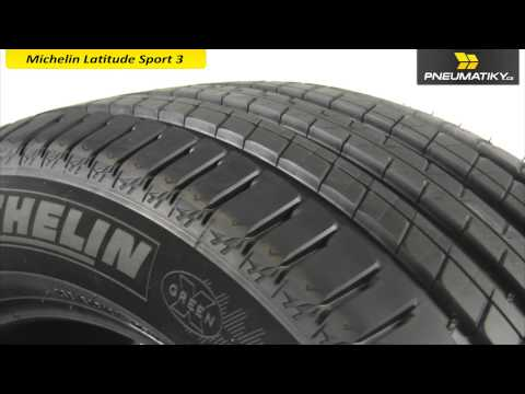 Youtube Michelin Latitude Sport 3 225/65 R17 102 V GreenX Letní