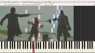 Песенка о капитане - �. Дунаевский (Ноты и Видеоурок для фортепиано) (piano cover)