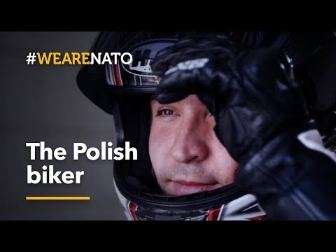 The Polish biker - #WeAreNATO