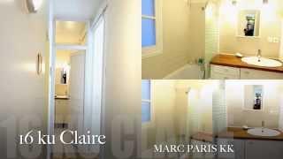 16区貸スタジオ。短期長期可。3LDKアパート内2部屋。各部屋1000euro/月。敷金無。電気・ガス等