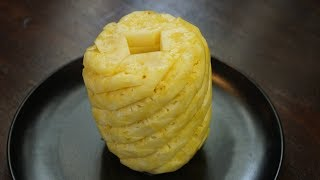 How To Cut Pineapple Without Waste - Morgane Recipes